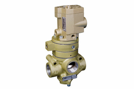 Inline Poppet Soft Start Valves